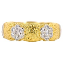 Buccellati Diamond Gold Band