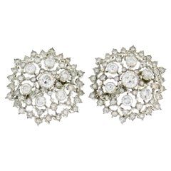 Buccellati Diamond White Gold Earrings