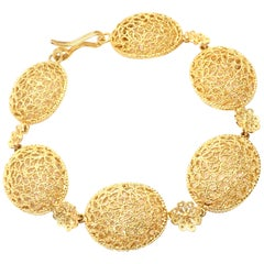 Buccellati Filidoro Yellow Gold Link Bracelet