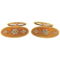 Buccellati Gold Classic Cufflinks