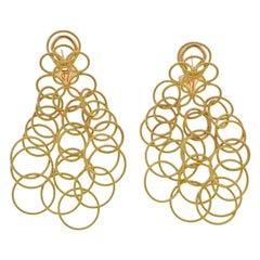 Buccellati Hawaii Yellow Gold Earrings