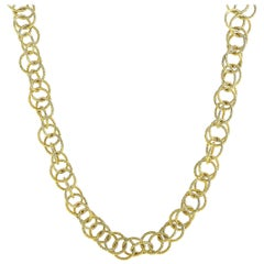 Buccellati Honolulu 18 Karat Yellow Gold Necklace