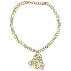 Buccellati Honolulu Gold Pendant Necklace