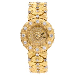 Buccellati Ladies Gold and Diamond Watch