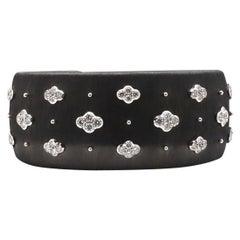 Buccellati 'Macri AB' Black Gold and Diamond Bracelet