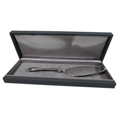 Buccellati Palm Beach Sterling Silver Server in Case
