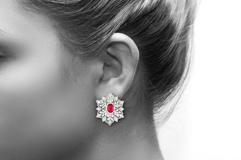 Women's Buccellati Ruby Earrings For Sale