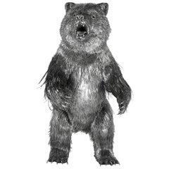 Buccellati Silver Furry Animals Bear