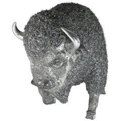 Buccellati Silver Furry Animals Bison