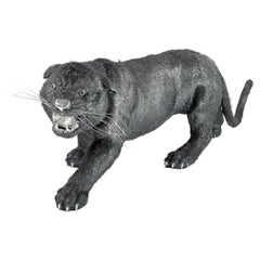 Buccellati Silver Furry Animals Black Panther