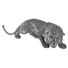 Buccellati Silver Furry Animals Lion