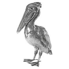 Buccellati Silver Furry Animals Pelican