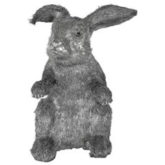 Buccellati Silver Furry Animals Rabbit