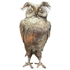Buccellati Silver Owl
