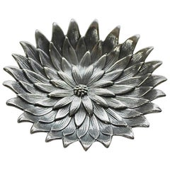 "Buccellati Sterling Silver ""Anemone"" Bowl"