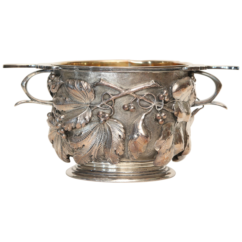 Buccellati Sterling Silver Ice Bucket