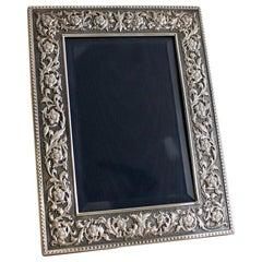 Buccellati Sterling Silver Picture Frame ''Medicea''
