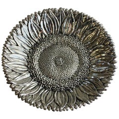 "Buccellati Sterling Silver ""Sunflower"" Bowl"