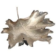 Buccellati Sterling Silver Vine Leaf Bowl