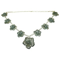 Buccellati Sterling Silver Vintage Flower Necklace