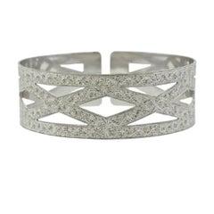 Buccellati White Gold Cuff Bracelet