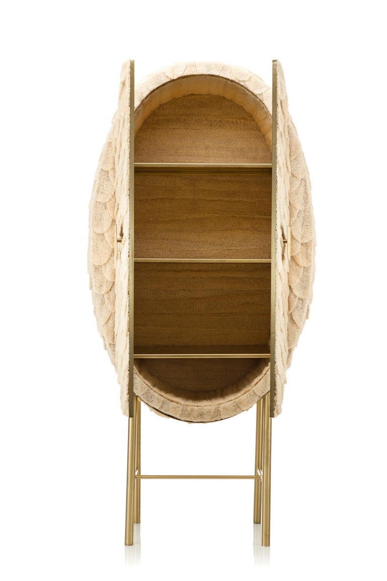 Hand-Crafted Bucha Soberana Contemporary Cabinet For Sale
