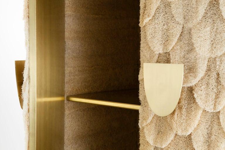 Brass Bucha Soberana Contemporary Cabinet For Sale