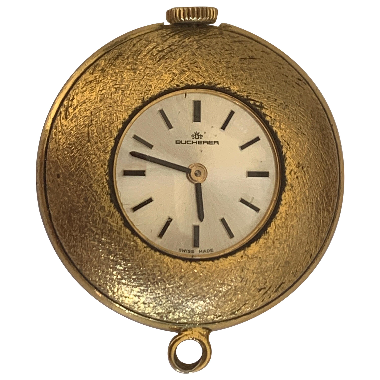 Bucherer Swiss 18 Karat Gold Watch