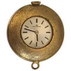 Bucherer Swiss 18k Gold Watch