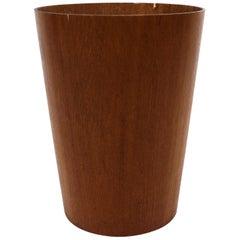 Bucket in Teak of Swedish Design Servex from the 1960s