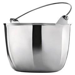 Bucky Metal Champagne-Bucket by Aldo Cibic