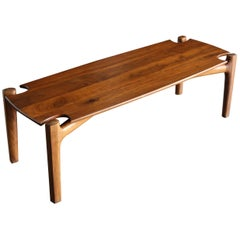 Bud Tullis Handcrafted Coffee Table, 1978