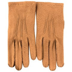 BUDD Vintage Size 9 Tan Pigskin Leather Gloves