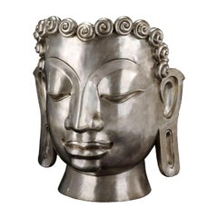 Buddha Bronze Mask