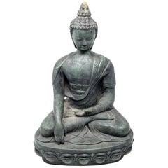 Buddha Sandstone Garden Statue, Contemporary