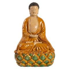 Buddha Sitting on a Lotus Flower