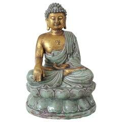 Buddha Statue in Ceramic, circa 1930