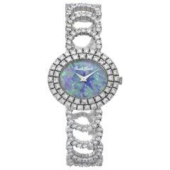 Bueche Girod 9801 18k White Gold Manual Watch