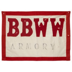 Buffalo Bill Wild West Show Banner, circa 1900