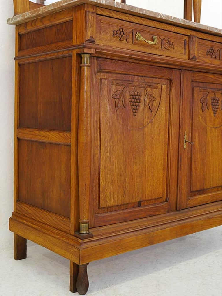 Buffet Cabinet Kitchen Cabinet Antique, 1920s Made of ...