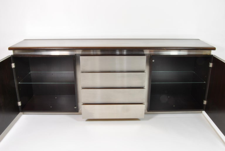 Mid-Century Modern Buffet, Design L. Acerbis and G. Stoppino for Acerbis International, Italy, 1960 For Sale