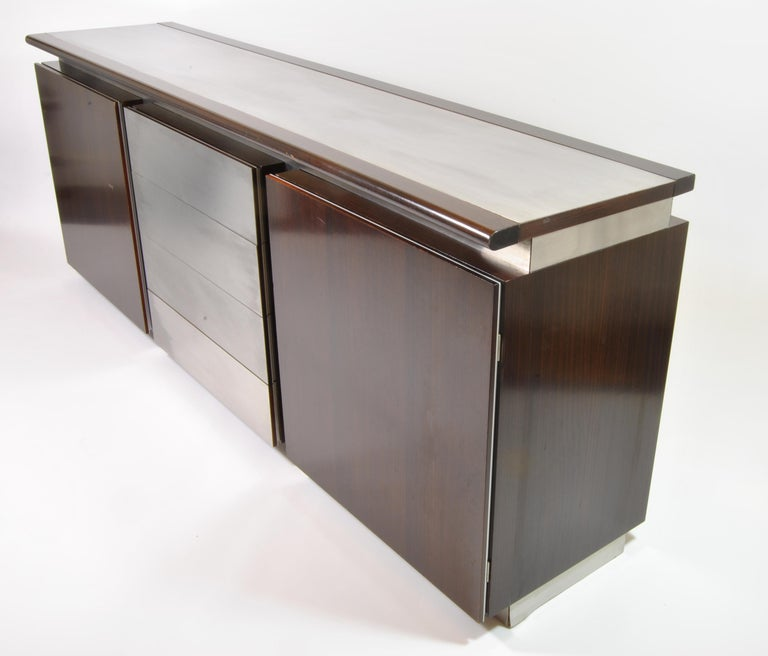Mid-20th Century Buffet, Design L. Acerbis and G. Stoppino for Acerbis International, Italy, 1960 For Sale