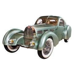 Bugatti Aerolithe 1935 Type-57 Recreation