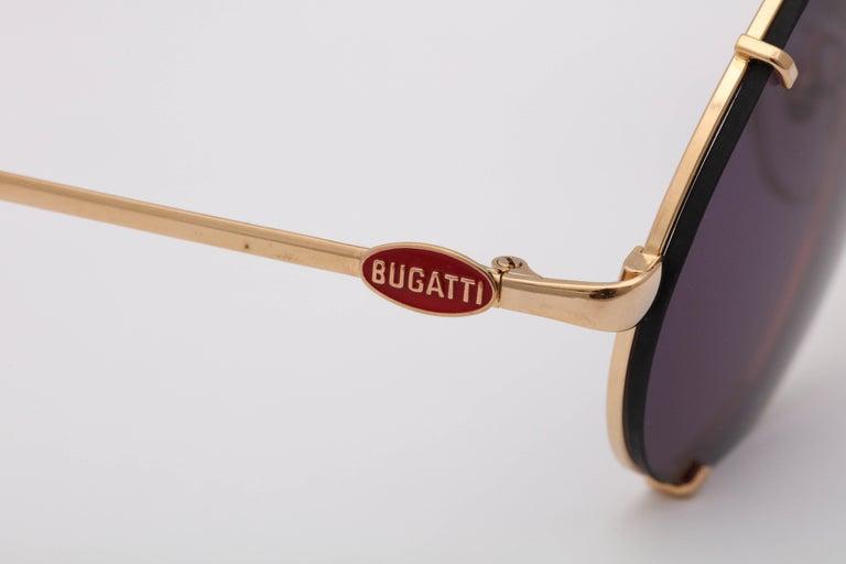 Bugatti Aviator Vintage Sunglasses 65359 For Sale 3