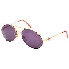 Bugatti Aviator Vintage Sunglasses 65359