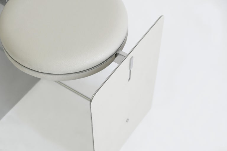 Building blocks double duty side table or stool: A round compositional side table could also function as a stool, designed with minimal form, reduced the unnecessary lines. Focus on different volume of materials.  Building blocks collection A set