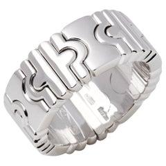 Bulgari 18 Carat White Gold Parentisi Ring