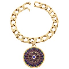 Bulgari 18 Karat Gold Vitrum Pastae Bracelet