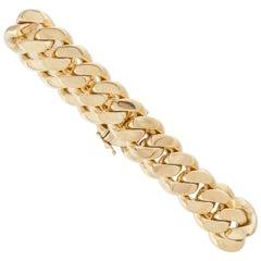 Bulgari 18 Karat Link Bracelet