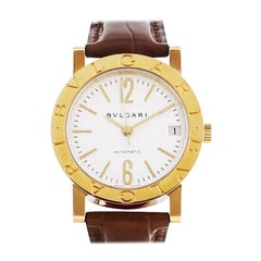 Bulgari 18 Karat Yellow Gold Automatic Watch BB33GL